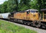 UP 6693 on oil train 64K